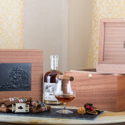 luxury cigar box